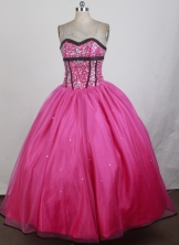 2012 Pretty Ball Gown Sweetheart Neck Floor-Length Quinceanera Dresses Style JP42650