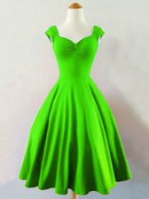 Green Lace Up Straps Ruching Quinceanera Court Dresses Taffeta Sleeveless