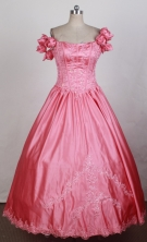 2012 Exquisite Ball Gown Off The Shoulder Floor-length Flower Girl Dress Style RFGDC090