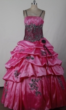 2012 Gorgeous Ball Gown Spaghetti Straps Floor-length Little Gril Pagant Dress Style RFGDC053