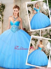 Lovely Sweetheart Quinceanera Dresses with Beading SJQDDT219002FOR