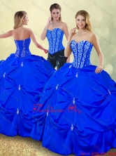 2016 Luxurious Floor Length Quinceanera Dresses with Pick Ups SJQDDT185002-4FOR