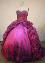 Beautiful Ball Gown SweetheartFloor-length Quinceanera Dresses Style L42411