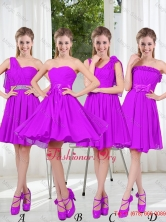 Pretty Sweetheart Beading Short Dama Dresses in Purple BMT001-3FOR